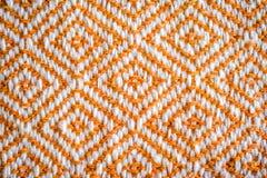 Tekstura handmade tkanina Obrazy Stock
