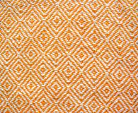 Tekstura handmade tkanina Zdjęcia Royalty Free