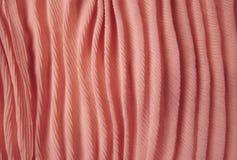 Tekstura i Projekt; Różowa Tkanina Zdjęcia Royalty Free