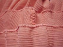 Tekstura i Projekt; Różowa Tkanina Obraz Stock