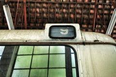 Tekstura i tło stara szkoła autobus zdjęcia stock
