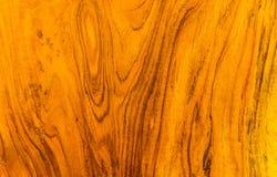 Tekstura i wzór złocisty tekowy drewno fotografia stock