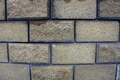 Tekstura kamień na ogrodzeniu Obraz Royalty Free