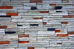 Tekstura kamień na ogrodzeniu Zdjęcie Royalty Free