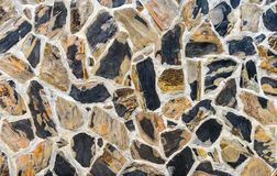 Tekstura kamienna ściana obrazy royalty free