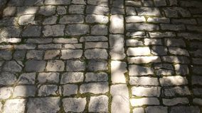Tekstura kamienny ściana z cegieł naturalne tekstury zdjęcie wideo