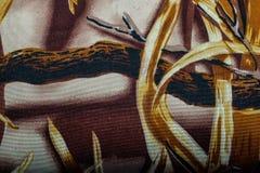 Tekstura khaka Militarny camouflge, łowiecki kamuflażu backgrund zdjęcia royalty free