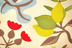 Tekstura Kolorowych kwiatów Batikowy tło Obrazy Royalty Free