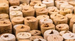Tekstura korek od wino butelek Obrazy Stock