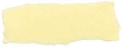 Odosobniona włókno papieru tekstura - Żółta śmietanka XXXXL Fotografia Royalty Free