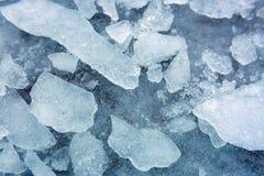 Tekstura lód Zdjęcie Stock
