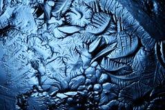 Tekstura lód, marznący wodny naturalny lód Zdjęcie Stock
