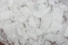 Tekstura lód Zamarznięty śnieg Zdjęcie Stock