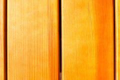Tekstura lakierująca kolor żółty deska Fotografia Stock