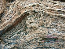 Tekstura lateral powierzchni kamień Obrazy Stock