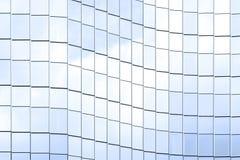 Tekstura lustrzany szklany okno Zdjęcie Stock