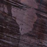 Tekstura malujący żelazo Plamy, rdza i narysy, Purpurowy tło Zdjęcia Royalty Free