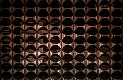 Tekstura metal fasada budynek fotografia royalty free