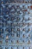 Tekstura metal kanwa stary forged drzwi Zdjęcia Stock