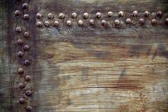 Tekstura metali nity Zdjęcia Royalty Free
