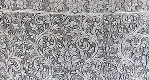 Tekstura metalu srebny talerz Zdjęcie Royalty Free
