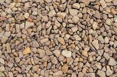 Tekstura miażdżący kamienny zmierzch Fotografia Stock
