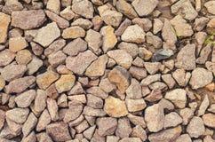 Tekstura miażdżący kamienny zmierzch Zdjęcia Stock