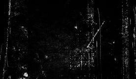 Tekstura narysy, układy scaleni, scuffs, brud na starej starzejącej się powierzchni Stary, rocznika filmu skutka narzuty ilustracja wektor