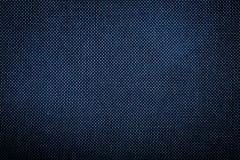 Tekstura niebiescy dżinsy Fotografia Stock