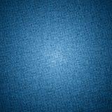 Tekstura niebiescy dżinsy tekstylni Fotografia Royalty Free