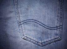 Tekstura niebiescy dżinsy Zdjęcia Royalty Free