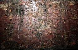 Tekstura ośniedziały metal, ośniedziali ampuła narysy na metalu, metalu barre obrazy stock