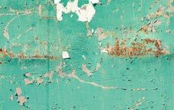 Tekstura ośniedziały metalu zmierzch Fotografia Stock