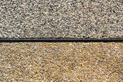 Tekstura odsłonięta łączna koniec podłoga zdjęcie stock