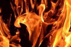 Tekstura ogień Obraz Stock