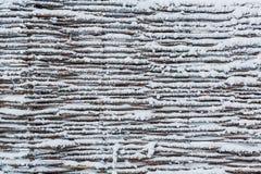 Tekstura ogrodzenie łozinowy Obraz Royalty Free