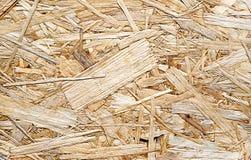 Tekstura OSB fiberboard od naciskającego drewnianego odpady obrazy royalty free