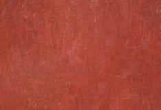 Tekstura panel chipboard, malujący w czerwieni Zdjęcia Stock