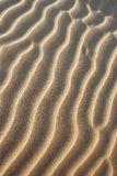 Tekstura piasek w pustyni Zdjęcia Stock