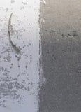Połówka malujący beton Obrazy Stock