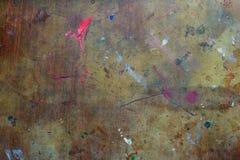 Tekstura pobrudzony stół Zdjęcia Stock