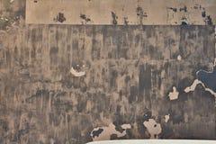 Tekstura podławi farby i tynku pęknięcia Zdjęcia Royalty Free