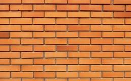 Tekstura pomarańczowy ściana z cegieł fotografia royalty free
