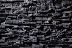 Tekstura popielata kamienna ściana Fotografia Stock