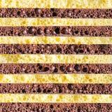 Tekstura porowaty czekoladowy zakończenie Zdjęcia Stock