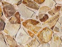 Tekstura powierzchnia od stubarwnego kamienia Zdjęcia Stock