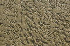Tekstura przy piasek plażą Fotografia Royalty Free