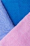 tekstura ręczniki Zdjęcia Royalty Free