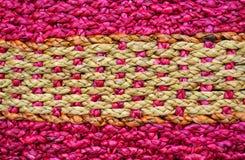Tekstura rattan weave Zdjęcia Royalty Free
