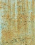 Tekstura rdzewiejący prześcieradło Zdjęcia Royalty Free